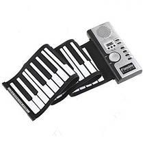 Гибкая MIDI клавиатура синтезатор пианино 61 клавиш