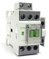Пускатель магнитный контактор электромагнитный с катушкой управления 230В, 12А 5.5 кВт (25А)