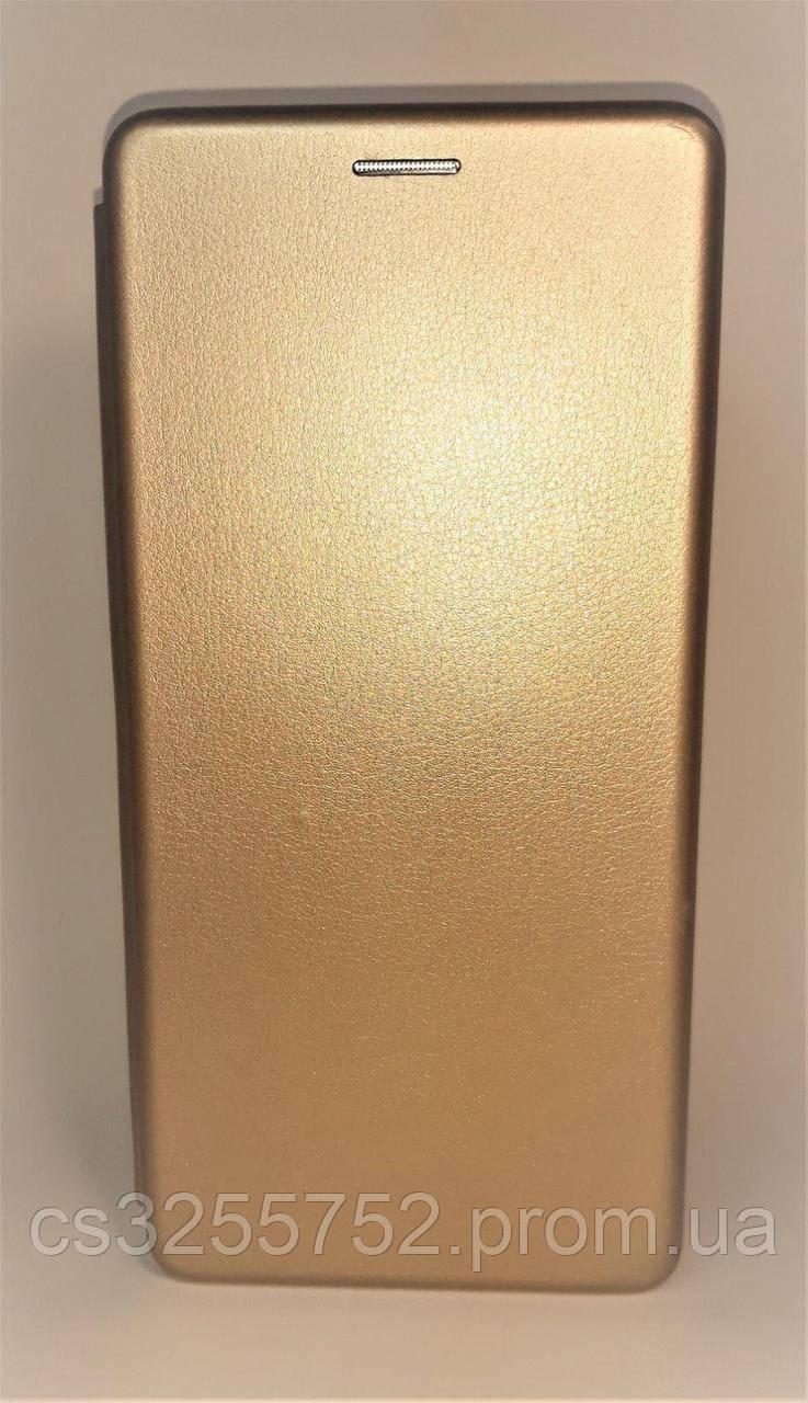 Чехол-книжка Level for Samsung J4 plus 2018 gold