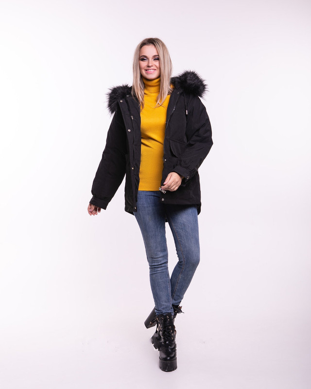 Фото Куртки зимней женской теплой Гильза