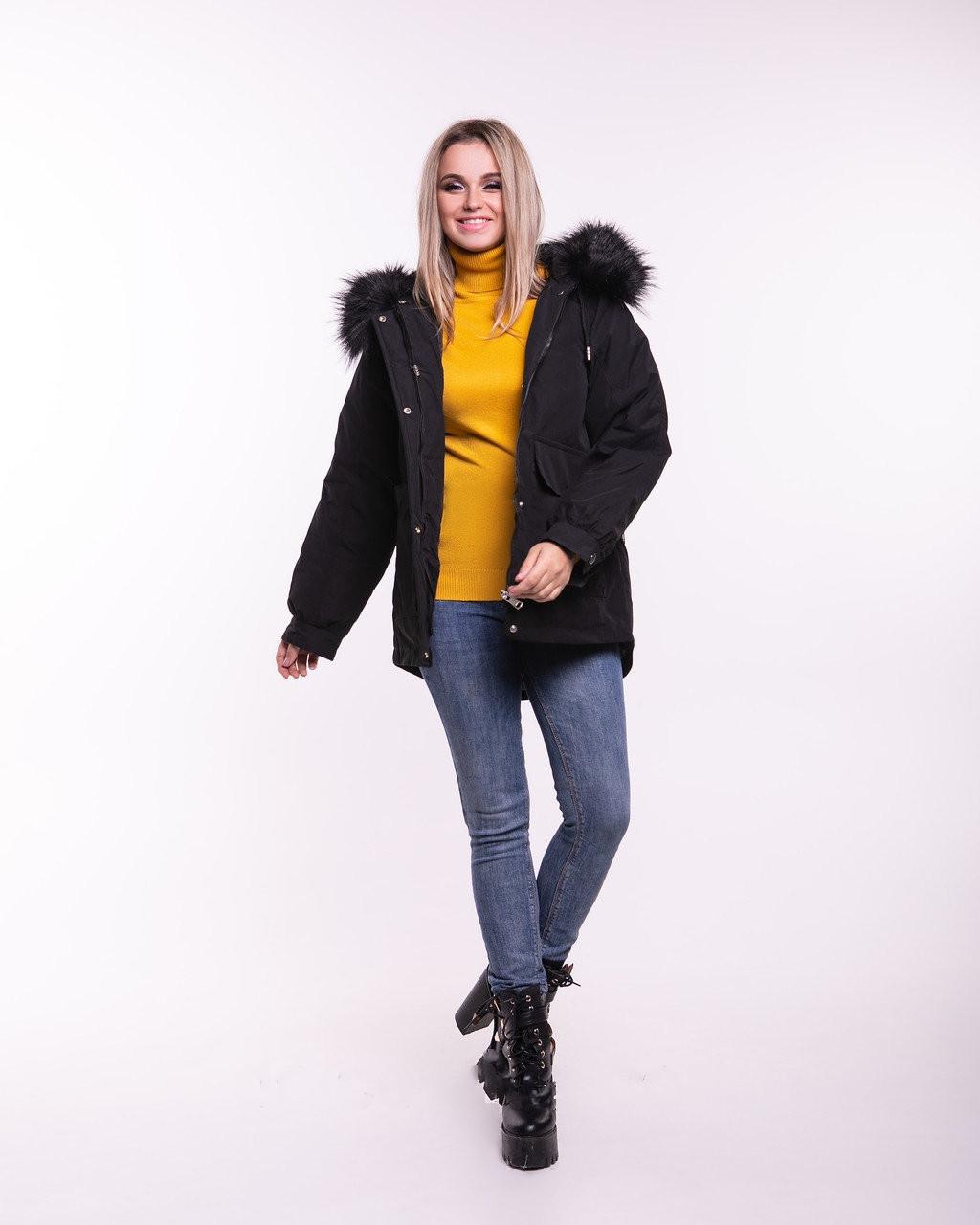 Женская зимняя куртка Гильза