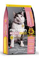 Nutram Ideal Sound сухий корм для кішок з куркою і лососем 1.8 КГ