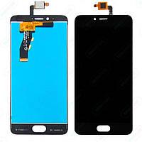 Дисплей для мобильного телефона Meizu M5s черный / с тачскрином