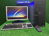 """Комплект Lenovo M55, 4 ядра, 4 ГБ ОЗУ, 500 Гб HDD + монитор 19"""" Широкий , Полностью настроен!, фото 3"""
