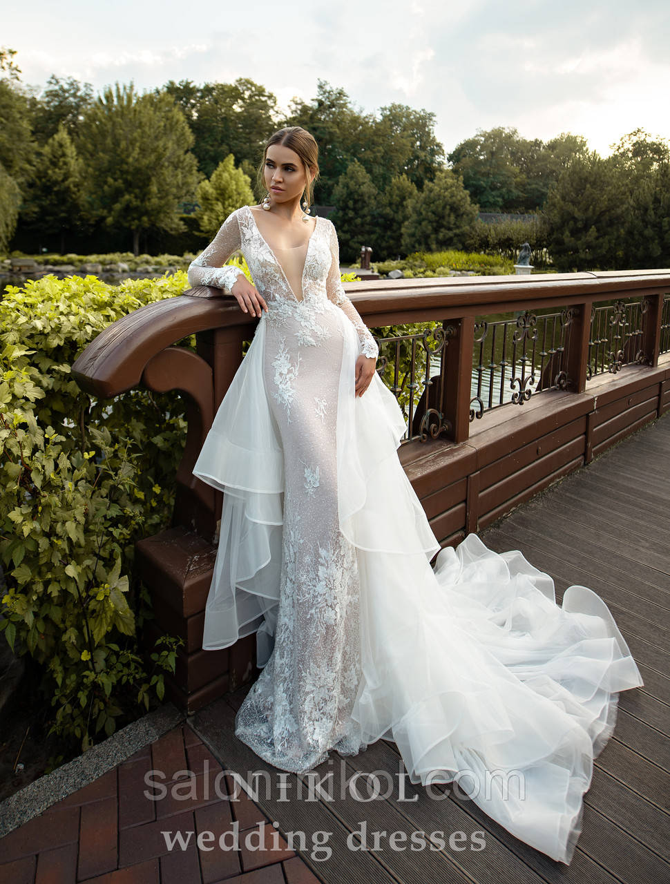 Свадебное платье № S-520