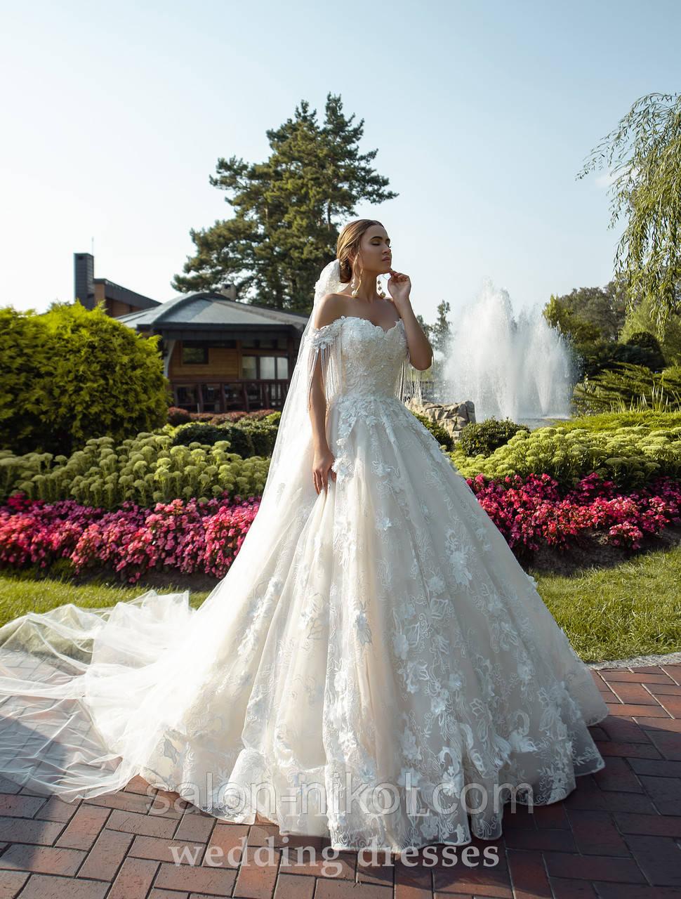 Свадебное платье № S-521