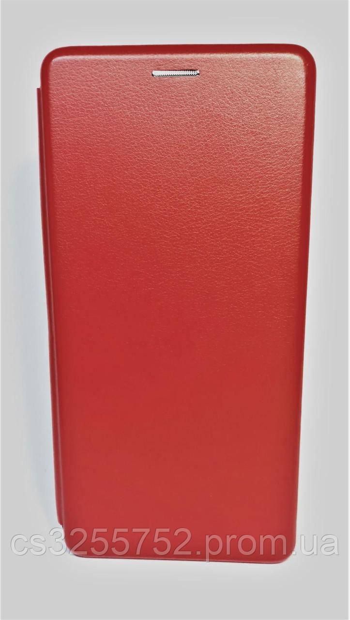 Чехол-книжка Level for Samsung J4 plus 2018 red