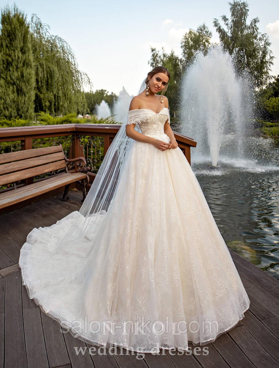 Свадебное платье № S-523