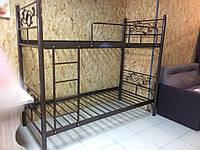 Кровать металлическая двухъярусная, фото 1