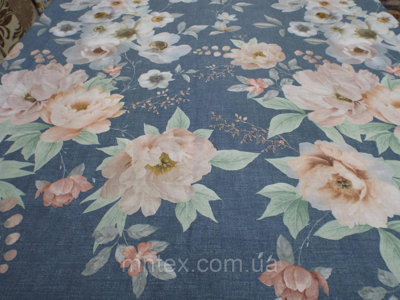 Ткань для пошива постельного белья бязь премиум Прикосновение