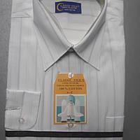 Белая классическая рубашка CLASSIC TIGE (размер 40-41, 42-43)