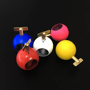 Реквізит для фокусів | Perfect Automatic Silk to Ball (Red) (хустка в кулю), фото 2
