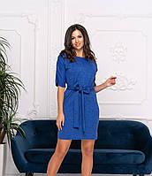 Женское платье  Ангора-рубчик  4 цвета, фото 1