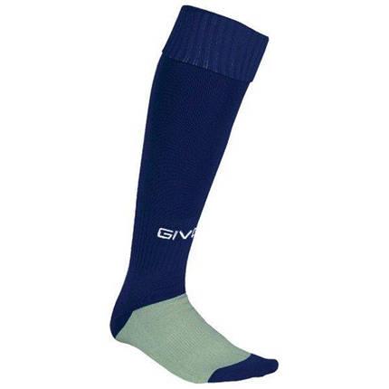 Гетры футбольные Givova C001-0004 Темно-синие Размер 36-40 (8034044152748), фото 2