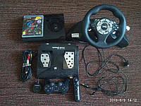 Ігрова приставка Sony PlayStation 3 Slim 500Gb + ігровий руль Volante speedracer ps3 + джойстик + диск