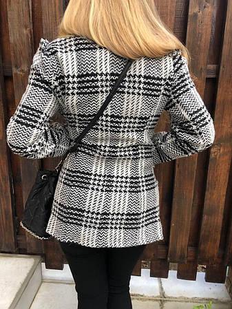 Пальто женское стильное кашемировое HUZEN, фото 2