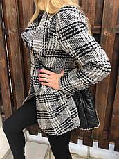 Пальто женское стильное кашемировое HUZEN, фото 3