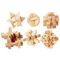 Набор из деревяных головоломок