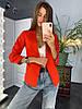 Пиджак на качественной подкладке с карманами, костюмка,. Размер:42-46.Разные цвета (5016), фото 3