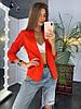 Пиджак на качественной подкладке с карманами, костюмка,. Размер:42-46.Разные цвета (5016), фото 4