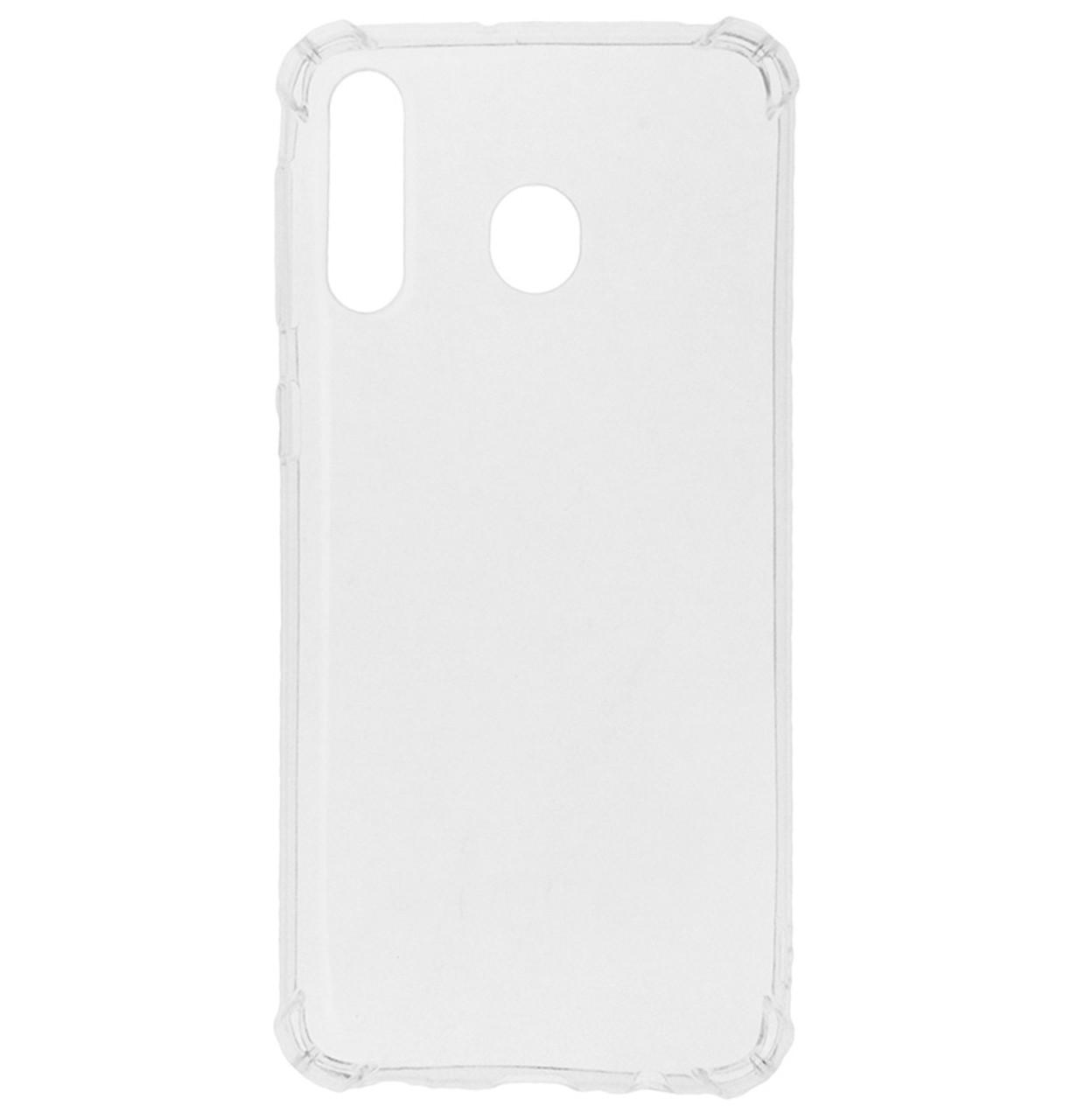Силиконовая накладка TOTO Shockproof TPU 1 mm с усиленными углами на Samsung Galaxy M30 SM-M305F Transparent