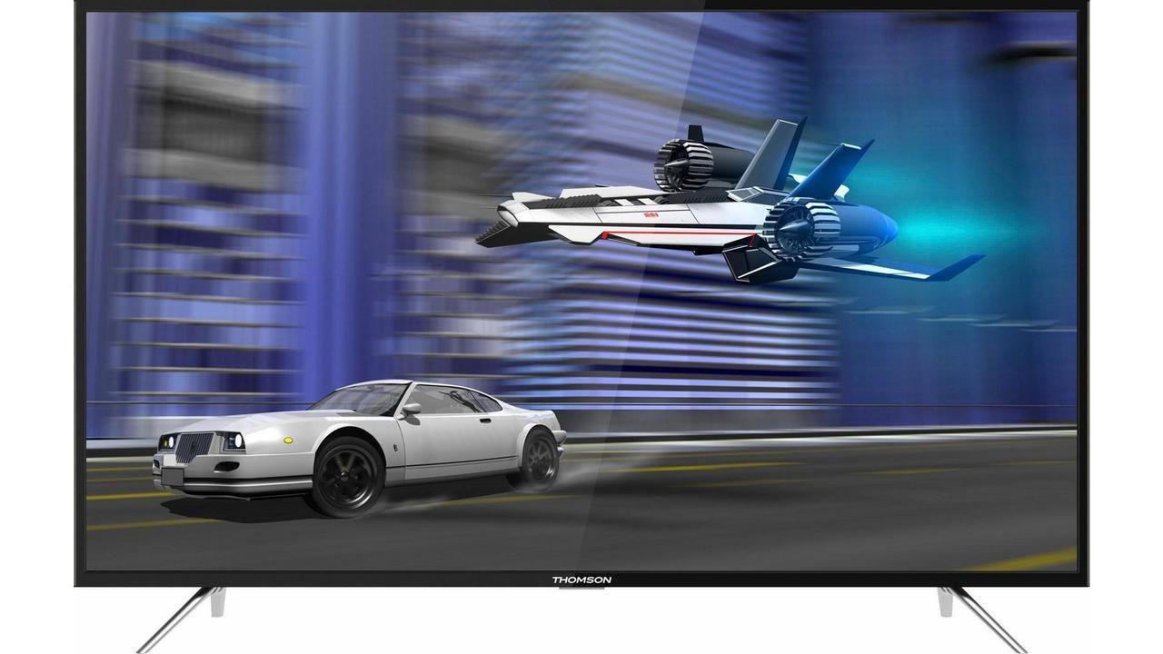 Телевизор Thomson 55UT6006 (4K / SmartTV / WiFi / PPI 1200 / HDR / Dolby Digital / DVB-C/T/S/T2/S2)
