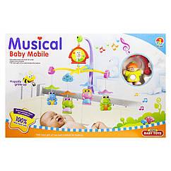 Карусель музыкальная 6519D 6519 ABCDE