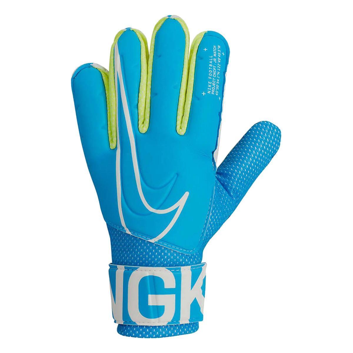 Перчатки вратарские Nike Goalkeeper Match GS3882-486 Синие