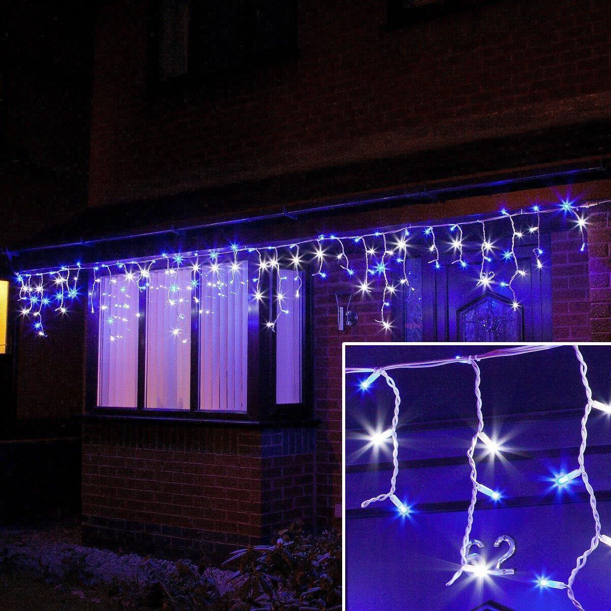Уличная светодиодная Гирлянда Бахрома Premium Light 3 х 0.6 м толстый провод