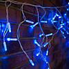 Уличная светодиодная Гирлянда Бахрома Premium Light 3 х 0.6 м толстый провод, фото 7
