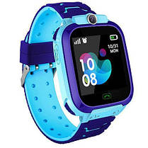 Смарт часы детские Baby TD07S с GPS и камерой синие