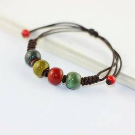 Серебряные и керамические браслеты
