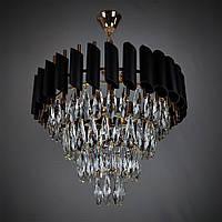 Подвесная хрустальная люстра на 6 лампочек E1721