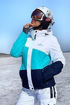 Женская горнолыжная куртка Freever (11621) Бирюзовый, S
