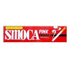 """Зубна паста для курців зі смаком м'яти і зимової зелені """"Smoca"""" 120 м (012010)"""