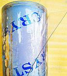 Пленка ПВХ. (Гибкое стекло).Плотность 400мкм. Рулон 1.37м*30 м. Прозрачная. Crystal, фото 4
