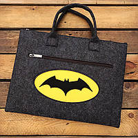 """Сумка для ноутбука 13.3"""" Бэтмен (Войлок)"""