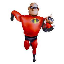 Шар (67''/170 см) Ходячая Фигура, Суперсемейка Мистер Исключительный, Красный, Anagram (США)