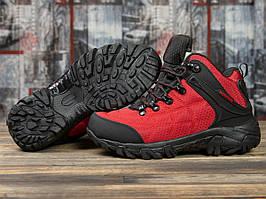 Зимние кроссовки  на меху Merrell Waterproof, красные (31012) размеры в наличии ► [  36 37 38 39 41  ]