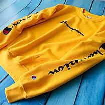 Champion - свитшот жёлтый • мужской и женский • Бирки и Живые фотки, фото 3