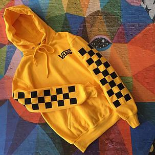 Толстовка мужская Vans   Жёлтая, фото 2