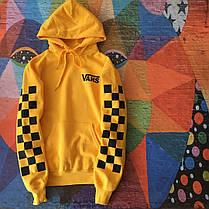 Толстовка мужская Vans   Жёлтая, фото 3