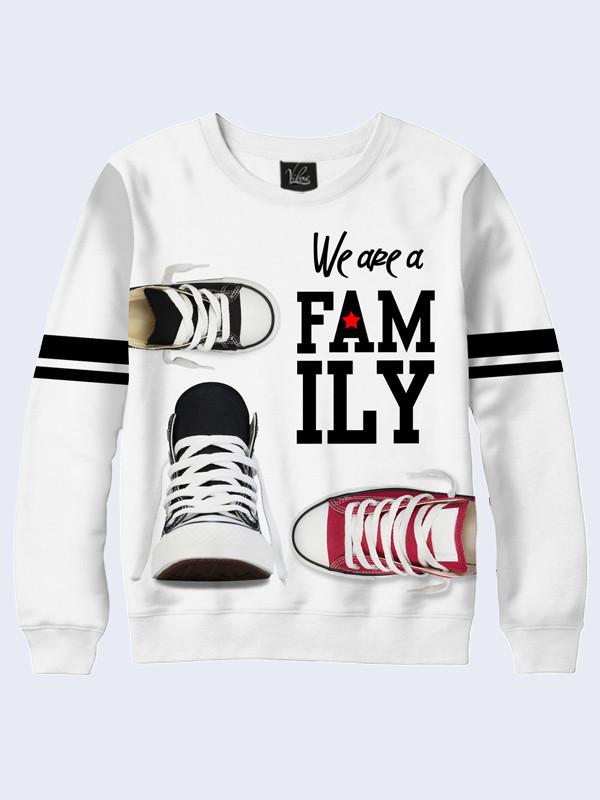 Свитшот женский We are family