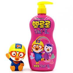 Детский шампунь 3 в 1 Pororo Three In One shampoo