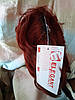 Хвост-шиньон каскад на крабе красно-медный L22A- R35, фото 7