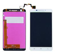 Дисплей для LENOVO A5000 (смартфон) с белым тачскрином