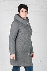 Женское утепленное пальто Мери пиксель