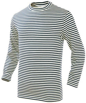 Тільняшка моряка зимова, 100% бавовна MilTec 10812000, фото 2