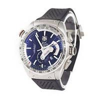 Часы наручные Tag Heuer Grand Carrera Calibre 36 quartz Chronograph Silver