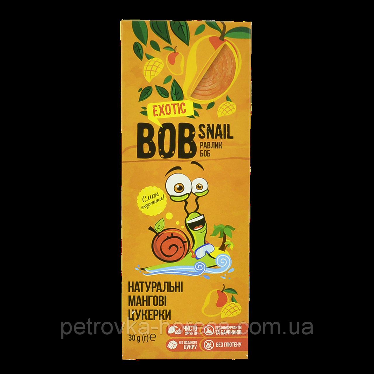 Конфеты BOB SNAIL Манго 30 грамм